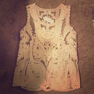 Charming Charlie's brand new lace top